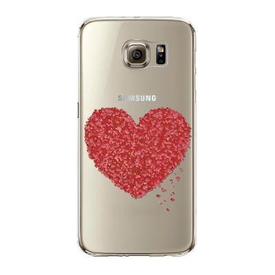 "Husa Samsung Galaxy S6 ""HEART OF HEARTS"""
