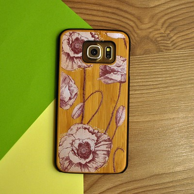 "Husa Samsung Galaxy S6  ""BLOOMING POPPY"""