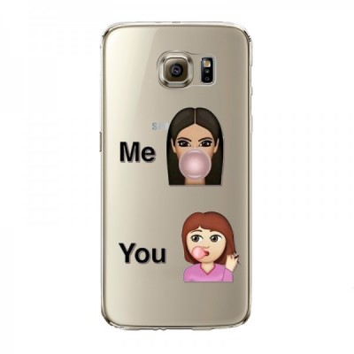 "Husa Samsung Galaxy S6  ""ME vs YOU"""