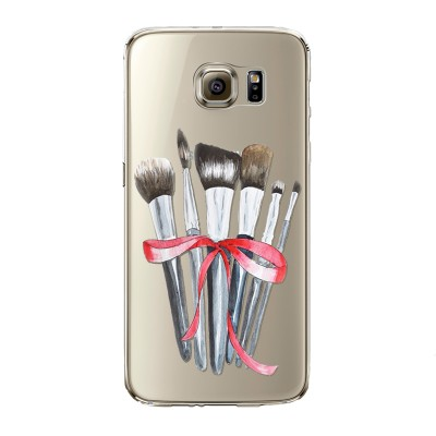 "Husa Samsung Galaxy S7 Edge ""MAKEUP BRUSHES"""