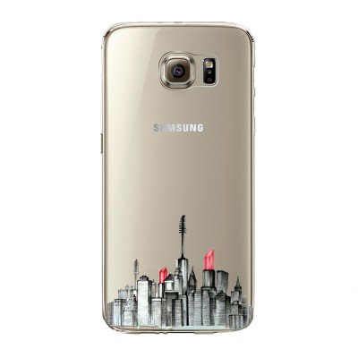 "Husa Samsung Galaxy S7 Edge ""MAKEUP CITY"""
