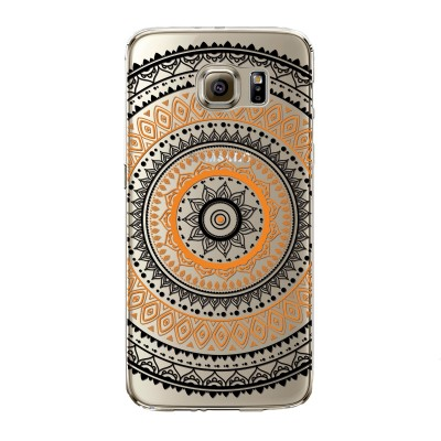 "Husa Samsung Galaxy S7 ""ORANGE CIRCLE"""