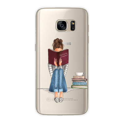 "Husa Samsung Galaxy S7 Edge ""ONLY BOOKS TONIGHT"""