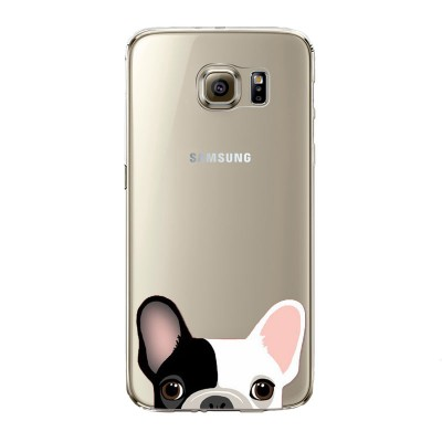 "Husa Samsung Galaxy S7 Edge ""SPOTTED FRENCHIE"""