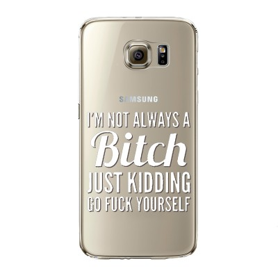 "Husa Samsung Galaxy S7 Edge ""BITCHY"""