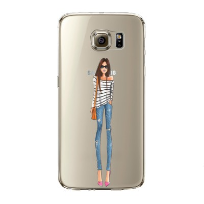 "Husa Samsung Galaxy S7 Edge ""CASUAL STRIPES"""