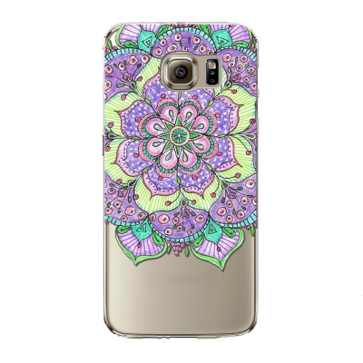 "Husa Samsung Galaxy S7 Edge ""HENNA PURPLE FLOWER"""