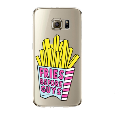 "Husa Samsung Galaxy S7 Edge ""FRIES BEFORE GUYS"""