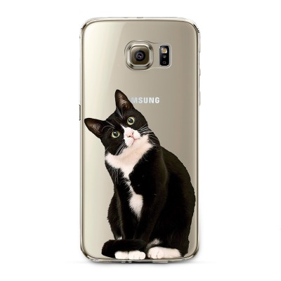 "Husa Samsung Galaxy S6 ""CURIOSITY KILLED THE CAT"""