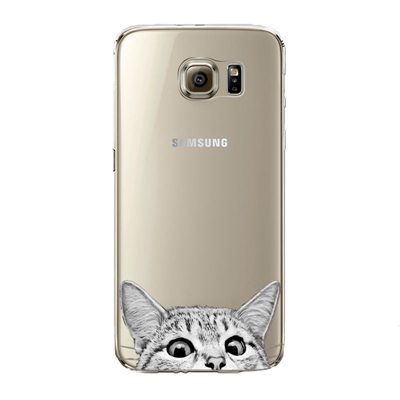 "Husa Samsung Galaxy S7 Edge ""CURIOUS CAT2"""