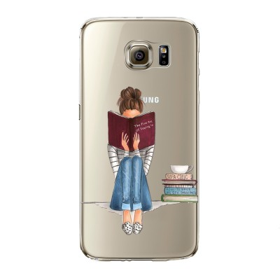 "Husa Samsung Galaxy S7 ""ONLY BOOKS TONIGHT"""