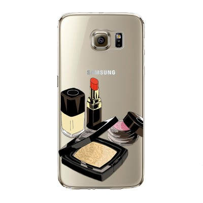 "Husa Samsung Galaxy S7 ""POUDER AND LIPSTICK"""