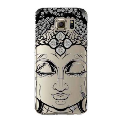 "Husa Samsung Galaxy S7 ""BUDDHA HEAD - BLACK INK"""