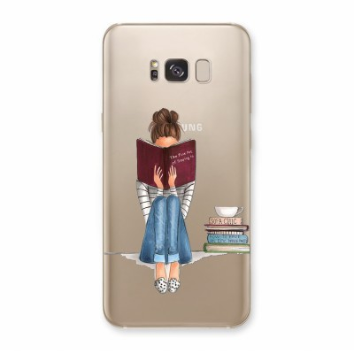 Husa Samsung Galaxy S8 Silicon Premium ONLY BOOKS TONIGHT