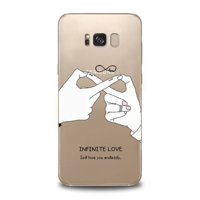 Husa Samsung Galaxy S8 Silicon Premium INFINITE LOVE