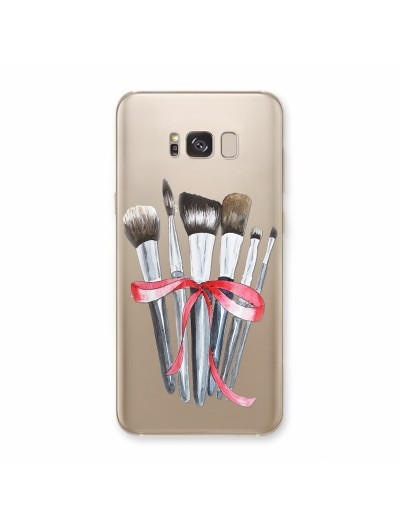 Husa Samsung Galaxy S8 Plus Silicon Premium MAKEUP BRUSHES