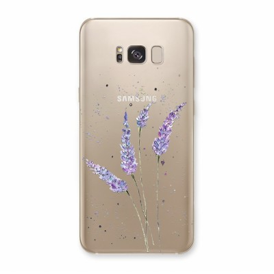Husa Samsung Galaxy S8 Plus Silicon Premium LAVENDER FEELINGS