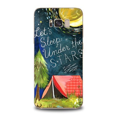 Husa Samsung Galaxy S8 Silicon Premium UNDER THE STARS