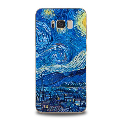 Husa Samsung Galaxy S8 Silicon Premium VAN GOGH - STARRY NIGHT