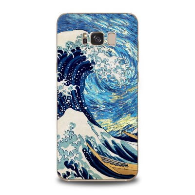 Husa Samsung Galaxy S8 Silicon Premium THE BIG WAVE