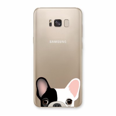 Husa Samsung Galaxy S8 Silicon Premium SPOTTED FRENCHIE