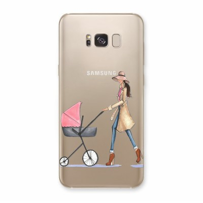 Husa Samsung Galaxy S8 Silicon Premium CHIC MOMMY