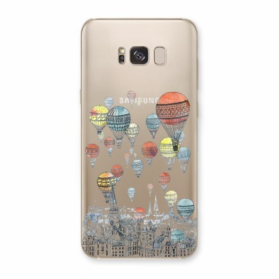 Husa Samsung Galaxy S8 Plus Silicon Premium AROUND THE WORLD