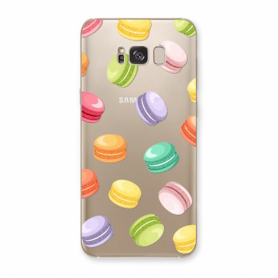 Husa Samsung Galaxy S8 Silicon Premium MACAROONS MADNESS