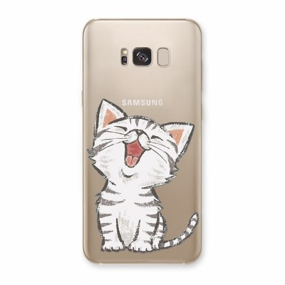 Husa Samsung Galaxy S8 Plus Silicon Premium HAPPY KITTY