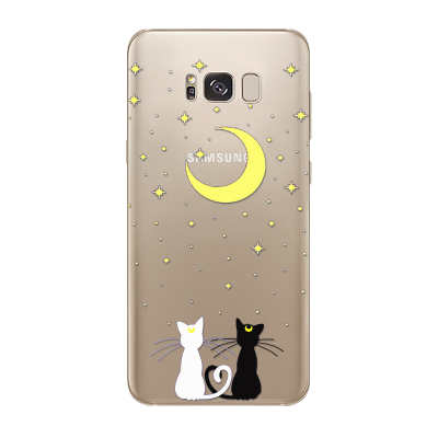 Husa Samsung Galaxy S8 Silicon Premium STARRY NIGHT