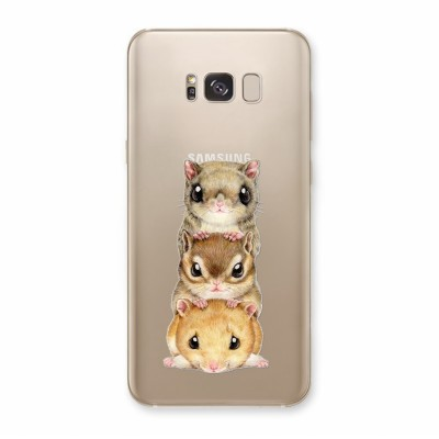 Husa Samsung Galaxy S8 Plus Silicon Premium CHIPMUNKS ON TOP