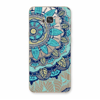 Husa Samsung Galaxy S8 Plus Silicon Premium BLUE PASTEL FLOWER