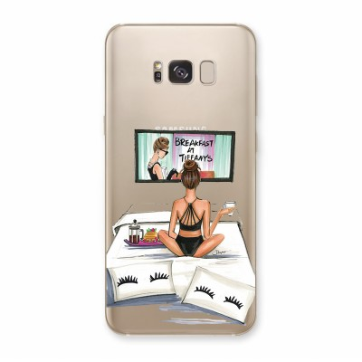 Husa Samsung Galaxy S8 Plus Silicon Premium BREAKFAST AT TIFFANY S