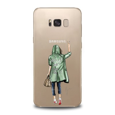 Husa Samsung Galaxy S8 Silicon Premium I DON T CARE