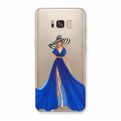 Husa Samsung Galaxy S8 Plus Silicon Premium BLUE SENSATION