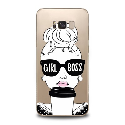 Husa Samsung Galaxy S8 Plus Silicon Premium GIRL BOSS