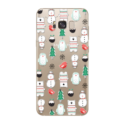 "Husa Samsung Galaxy S7 Edge ""CHRISTMAS PATTERN"""