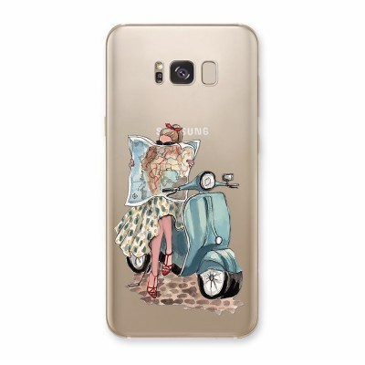 Husa Samsung Galaxy S8 Silicon Premium WHEN IN ROME