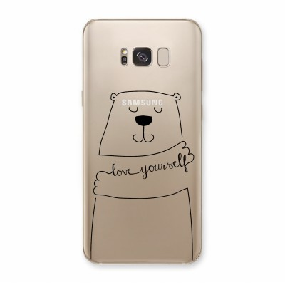 Husa Samsung Galaxy S8 Plus Silicon Premium LOVE YOURSELF