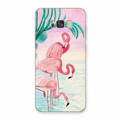 Husa Samsung Galaxy S8 Plus Silicon Premium FLAMINGO FAMILY