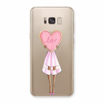 Husa Samsung Galaxy S8 Plus Silicon Premium LOVE HEART