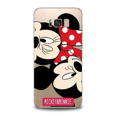Husa Samsung Galaxy S8 Silicon Premium MICKEY-MINNIE