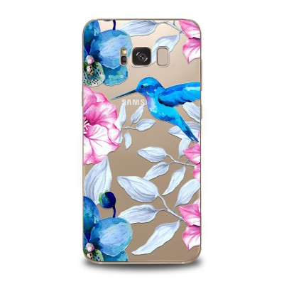 Husa Samsung Galaxy S8 Plus Silicon Premium HUMMINGBIRD TOUCH