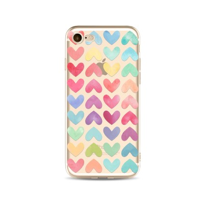 Husa iPhone HEARTS AND COLORS
