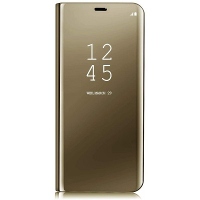 Husa Samsung Galaxy Clear View Mirror GOLD