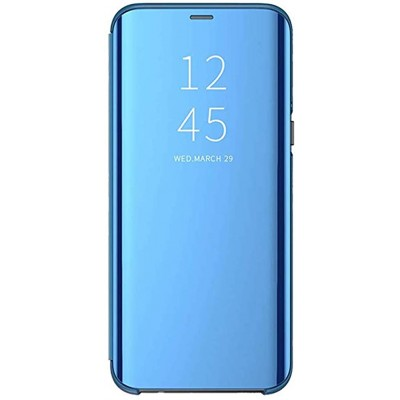 Husa Samsung Galaxy Clear View Mirror ALBASTRU