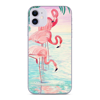 Husa iPhone FLAMINGO FAMILY