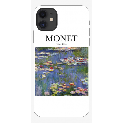 Husa iPhone ART - MONET - WATER LILIES