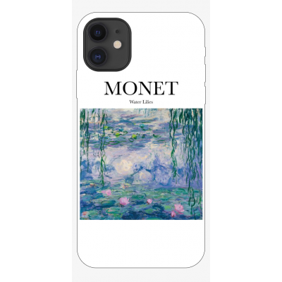 Husa iPhone ART - MONET - WATER LILIES2