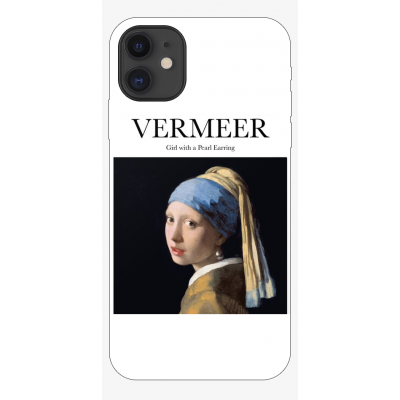 Husa iPhone ART - VERMEER - GIRL WITH PEARL EARRING